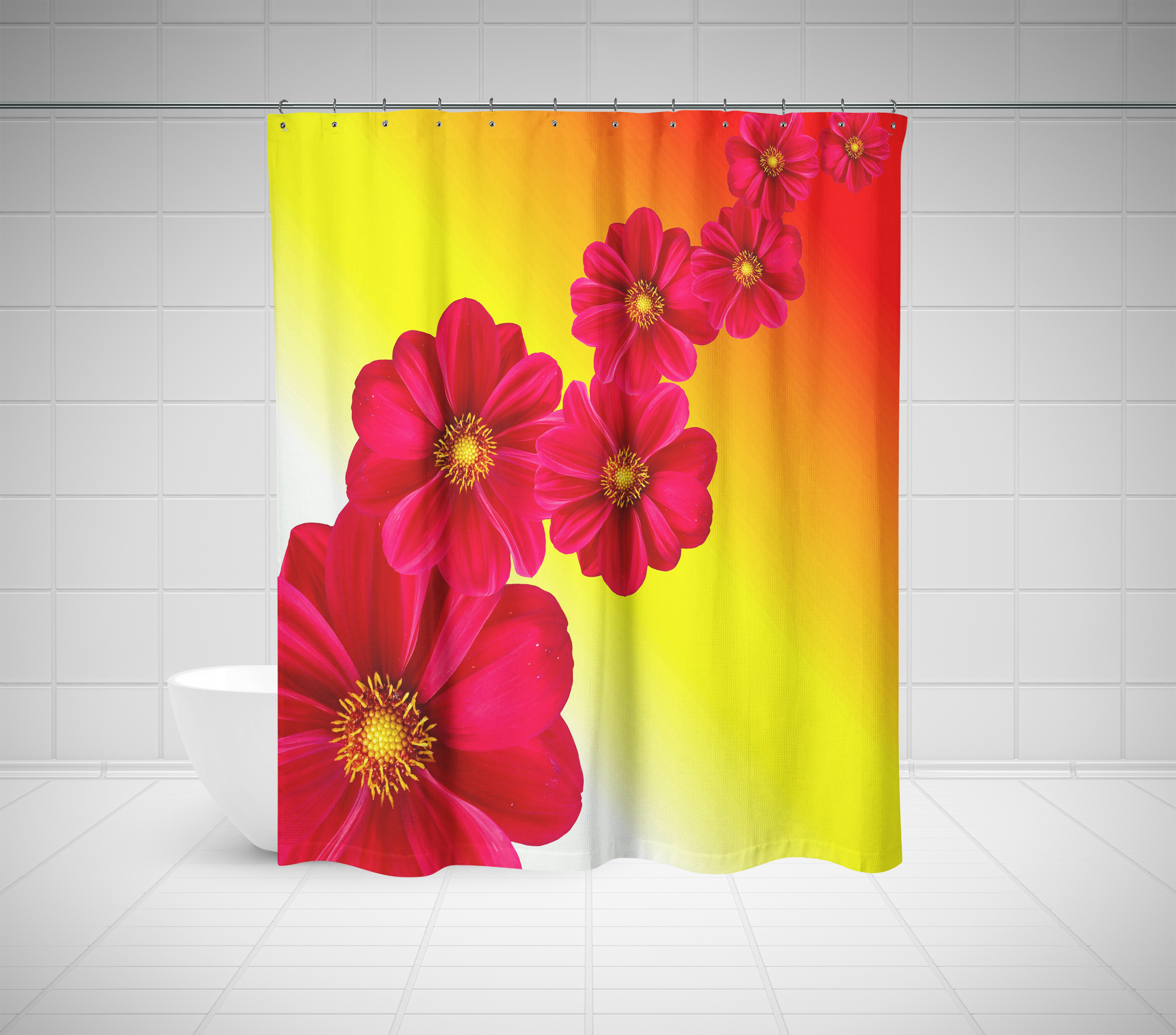 Cool Custom Shower Curtains
